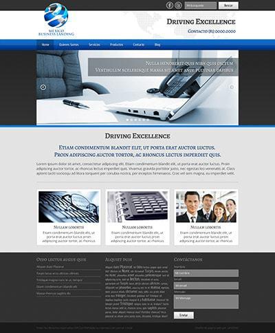 Página web BLMX