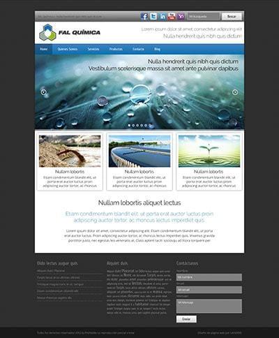 Página web Fal Química