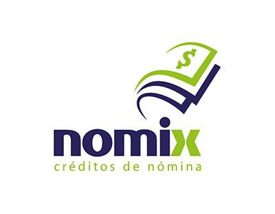 Creación de marca e identidad Nomix, créditos de nómina 1
