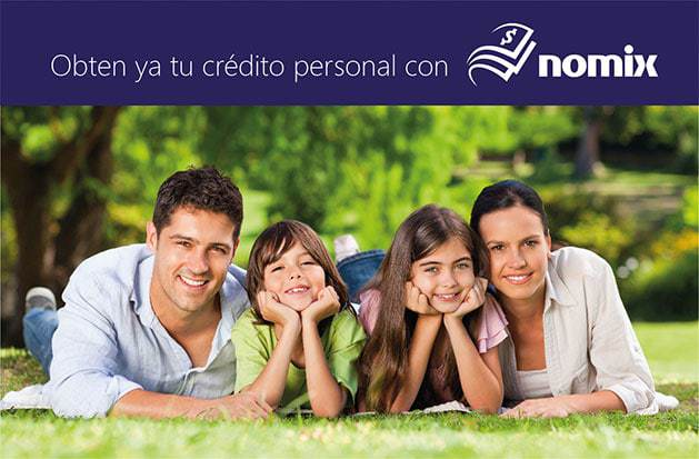 Creación de marca e identidad Nomix, créditos de nómina 2